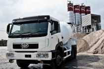 Faw 9m3 concrete mixer truck with best quality